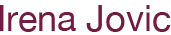 irenajovic Logo